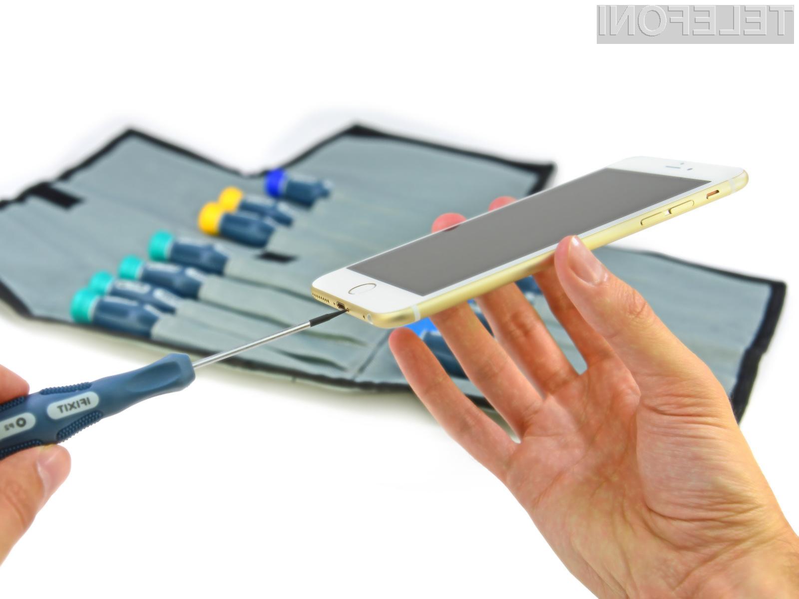 Mobilnik iPhone 6 Plus je v notranjosti povsem enaka njegovemu predhodniku!