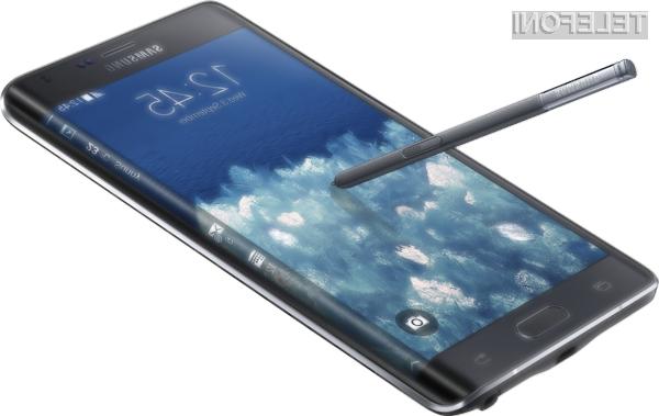 Prestižni Samsung Galaxy Note Edge bo v omejenih količinah naprodaj zgolj v manjšem številu izbranih držav.