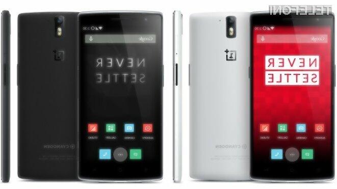 Pametni mobilni telefon OnePlus One bo kmalu na voljo širšemu krogu uporabnikov!