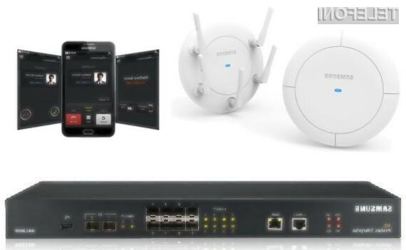 Samsung Wireless Enterprise WiFi sistem je s svojo zanesljivostjo in funkcionalnostjo, ter zmerno ceno vodilni na področju poslovnih rešitev.