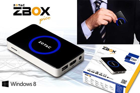 ZOTAC z novim modelom ZBOX PI320 pico žepne velikosti