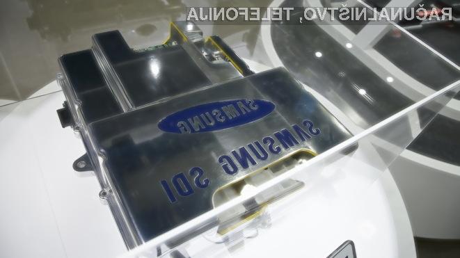 Upogljive baterije za nosljivo elektroniko naj bi bile nared za množično uporabo v treh letih.