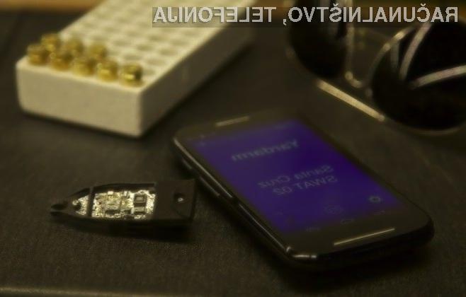 Čipovje podjetja Yardarm Technologies, Inc omogoča sledenje orožju v realnem času.