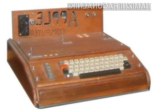 Organizacija The Henry Ford je na dražbi za osebni računalnik Apple I odštela kar vrtoglavih 715 evrskih tisočakov.