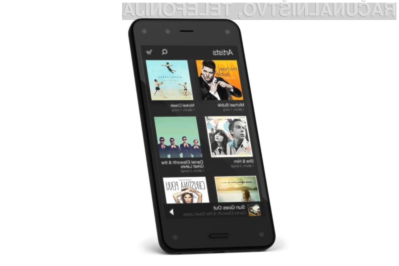 Amazon kljub polomu z mobilnikom Fire načrtuje njegovega naslednika?