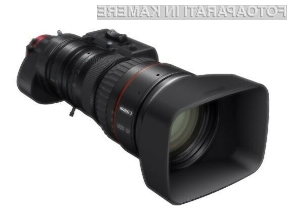 Canonov ultra teleobjektiv 4K cine-servo z najdaljšo goriščnico na svetu