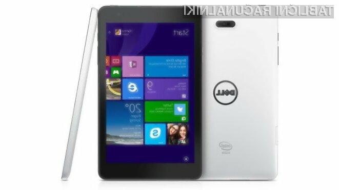 Tablični računalnik Dell Venue 8 Pro bo zlahka prepričal tudi najzahtevnejše uporabnike!
