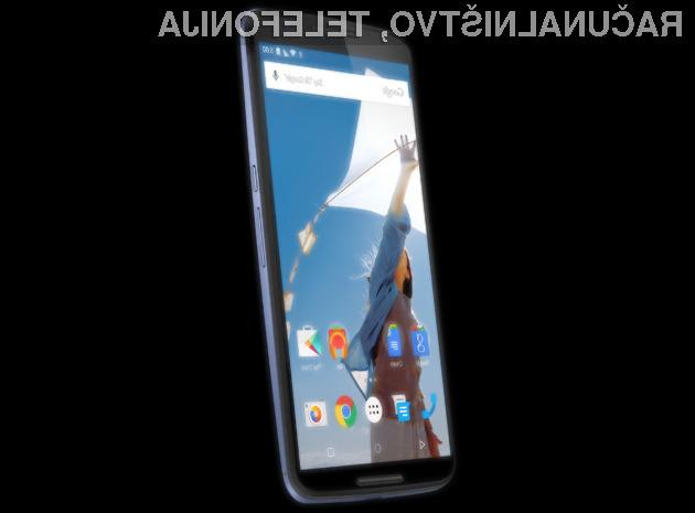 Grafični vmesnik mobilnika Google Nexus 6 bo močno spominjal na Motoroline mobilnike.