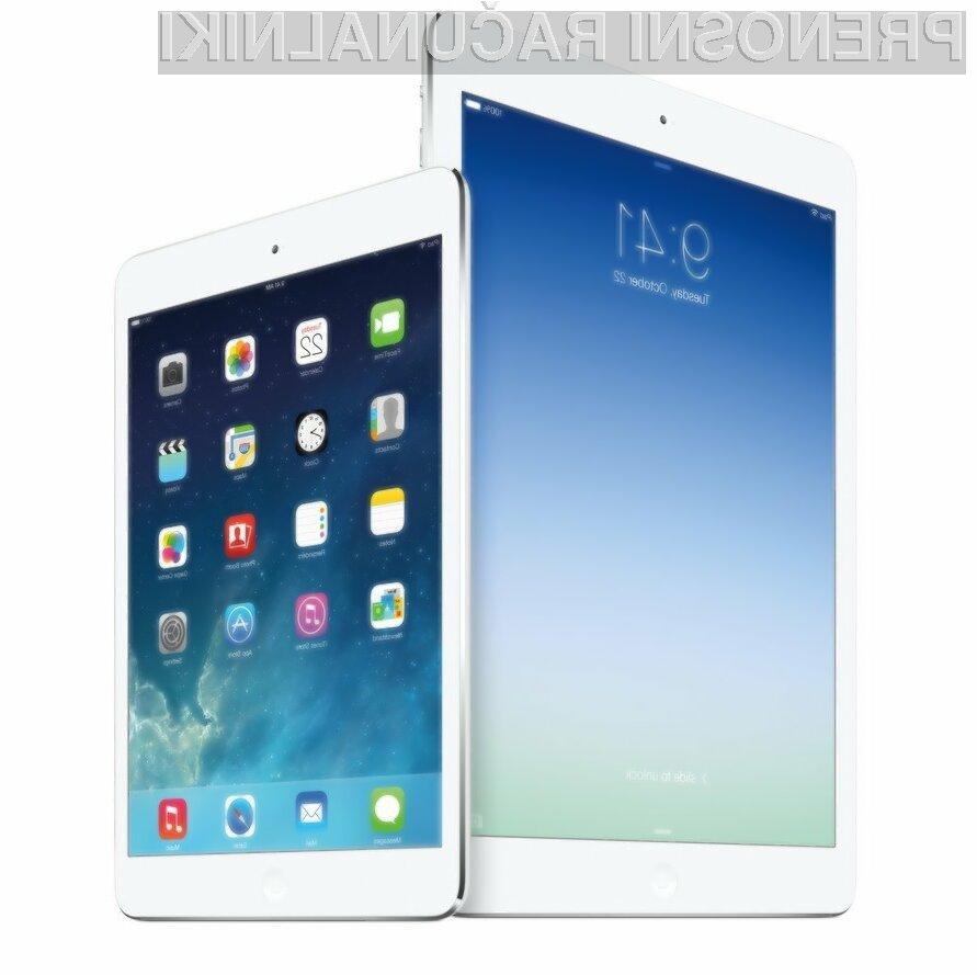 V ZDA naj bi bilo tablico Apple Air iPad 2 mogoče kupiti že konec oktobra!