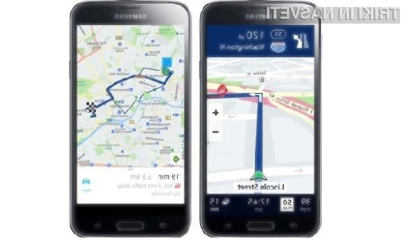 Lastnikom Samsungovih pametnih mobilnih telefonov družine Galaxy je odslej na voljo izvrsten Nokijin navigacijski sistem HERE.