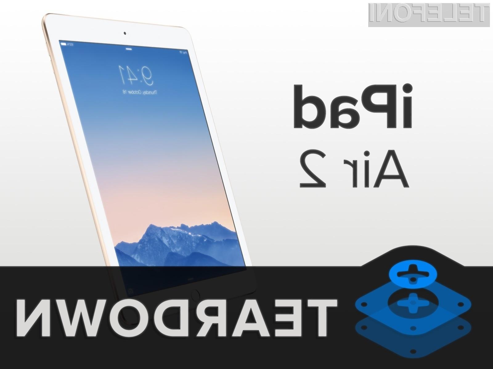 Tablici iPad Air 2 in iPad Mini 3 čipovje NFC po vsej verjetnosti uporabljata za večjo varnost plačilnega sistema Apple Pay.