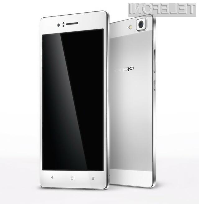 Pametni mobilni telefon Oppo R5 je prevzel lovoriko najtanjšega mobilnika na planetu!