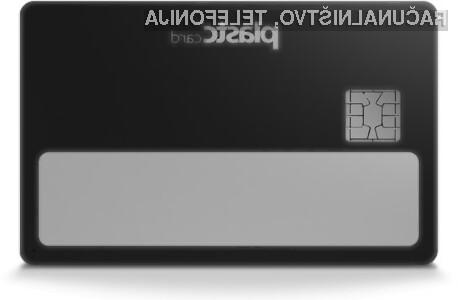Pametna kartica Plastc lahko brez težav prevzame vlogo vseh plastičnih kartic, ki jih nosimo s sabo.