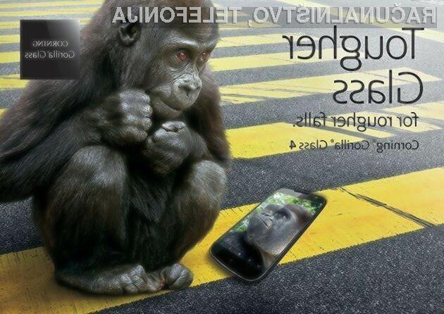 Glavna aduta nove generacije stekla Gorilla Glass sta večja odpornost in protibakterijska zaščita!