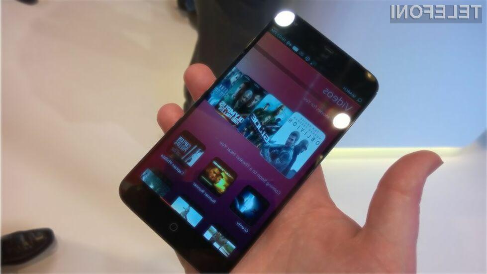 Mobilnik Meizu prvi s sistemom Ubuntu Touch!