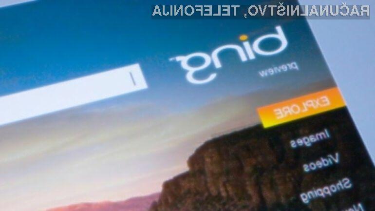 Podjetje Apple naj bi privzeti spletni iskalnik Google nadomestilo s konkurenčnim iskalnikom Bing.
