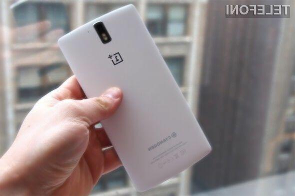 Pri podjetju OnePlus računajo na to, da naj bi mu do konca leta uspelo prodati kar milijon mobilniko One!