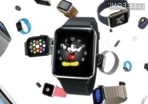 Podjetje Apple ima s pametno ročno uro Watch zelo velike načrte!