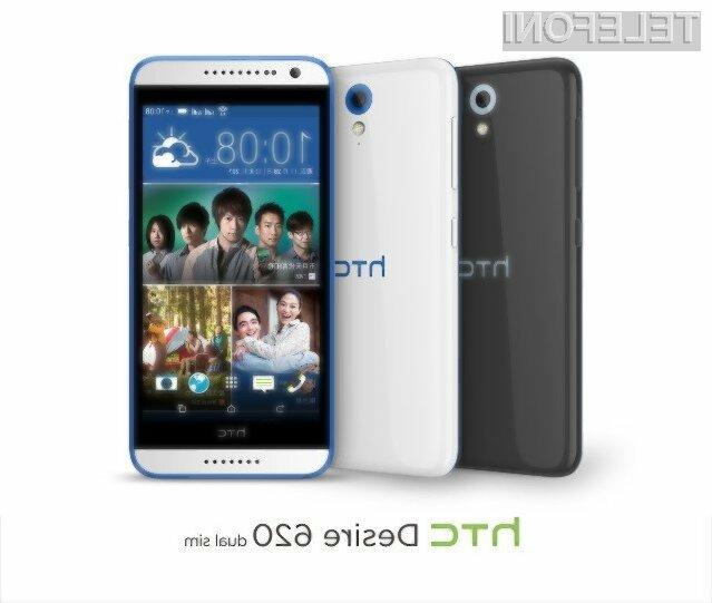Mobilnika HTC Desire 620 in Desire 620g bosta v Evropo zašla že januarja 2105.