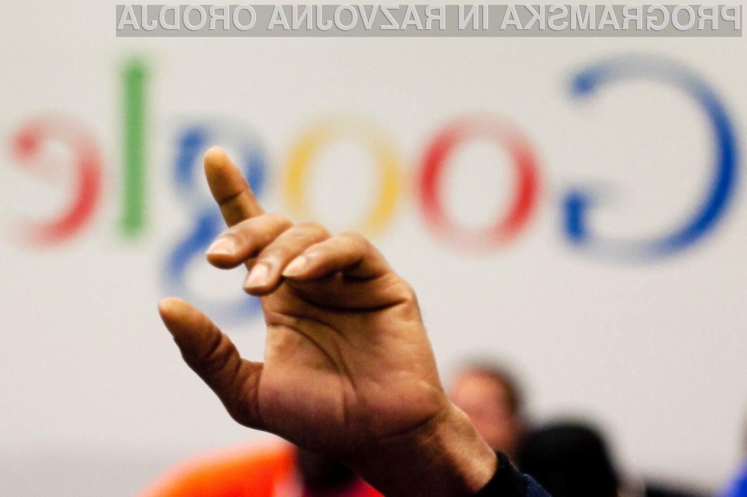 Google je z ukrepi Evropske unije seveda vse prej kot zadovoljen!