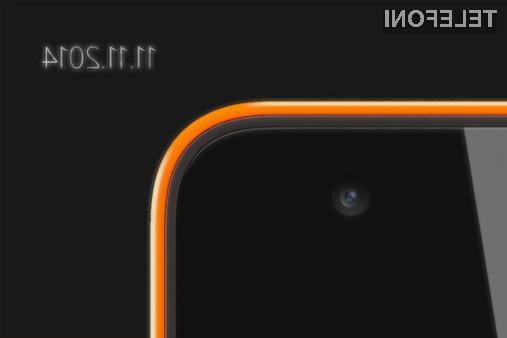 Cenovno ugodni pametni mobilni telefon Microsoft Lumia RM-1090 naj bi bil predstavljen že 11. novembra.