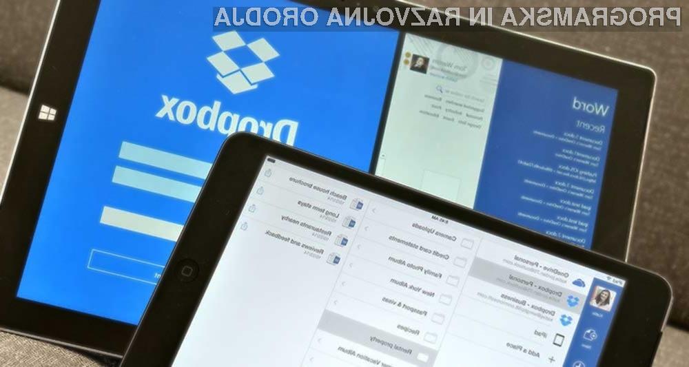 Dropbox in Microsoft skupaj proti vsem!
