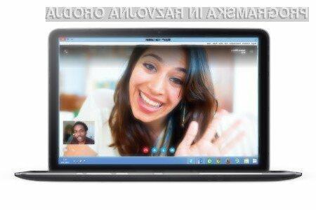 Skype bo kmalu mogoče uporabljati tudi znotraj spletnega brskalnika.