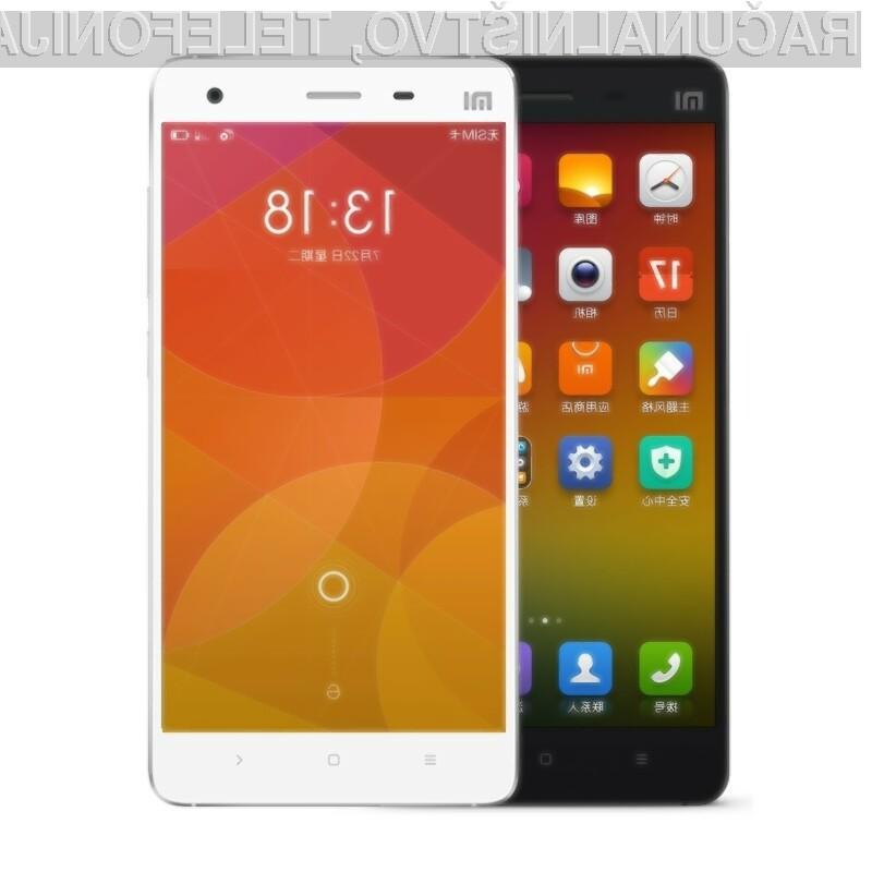 Pametni mobilni telefon Xiaomi Mi4 Youth se bo zlahka prikupil mladim.