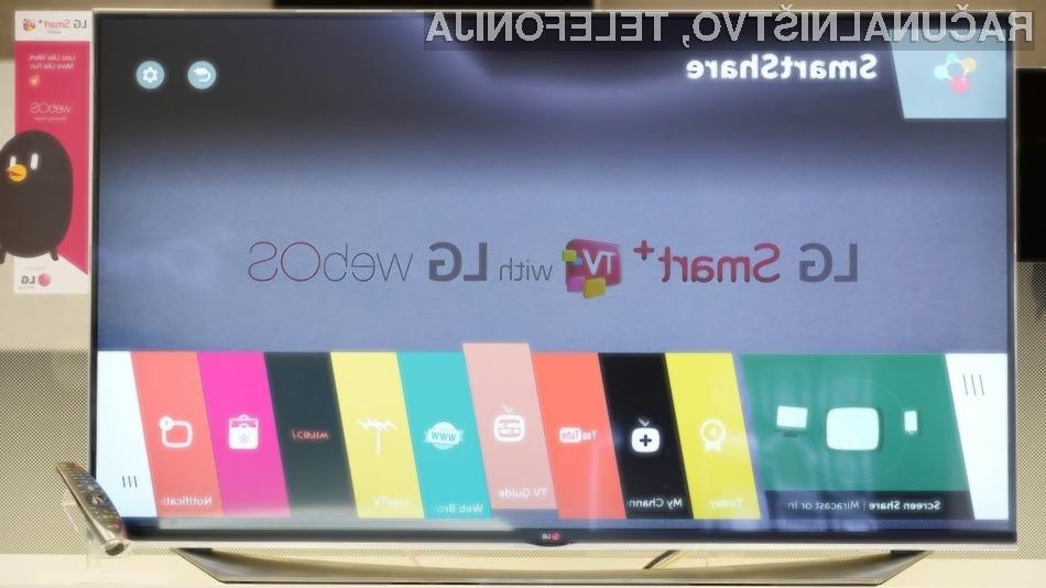 Za novi WebOS naj bi se že ogreli tudi drugi vodilni proizvajalci pametnih televizorjev!