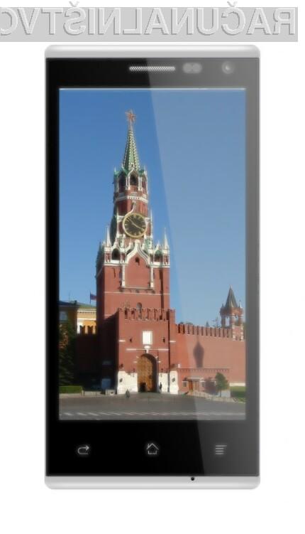 Pametni mobilni telefon BQ Moscow maloprodajne vrednosti zgolj preračunanih 80 evrov je tematsko obarvan za ruski trg.