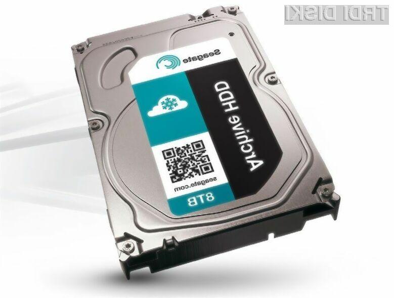 Nova različica prostornega trdega diska Seagate bo opremljena z namenskim čipovjem za strojno šifriranje podatkov.