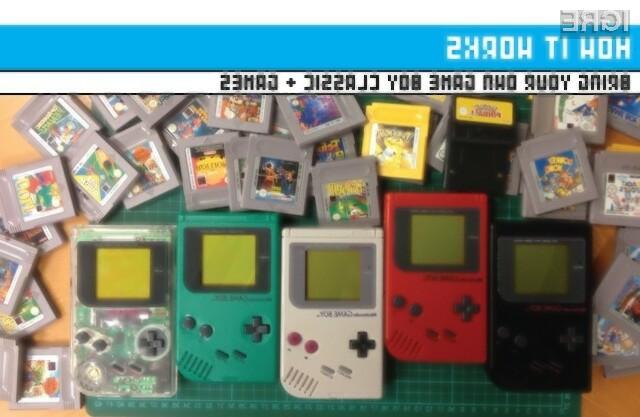Igre prenosne igralne konzole Game Boy bo kmalu mogoče igrati na velikem zaslonu!