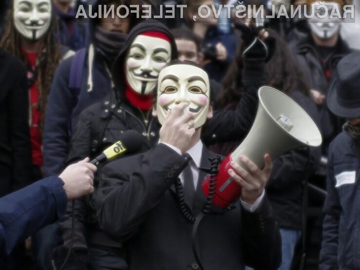 Anonymous ponovno udaril, zamenjajte gesla!