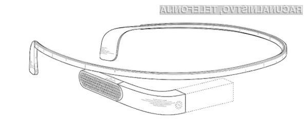 Oblika novih očal podjetja Google naj bi bila bolj prefinjena, ohišje z elektroniko pa bo nekoliko manjše.