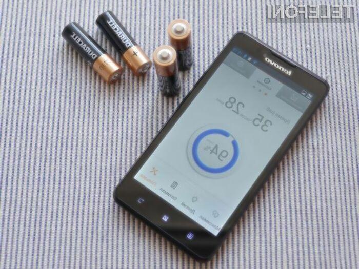 Pametni mobilni telefon Lenovo P70t bo zlahka prepričal tiste, ki mobilnik uporabljajo na vsakem koraku.