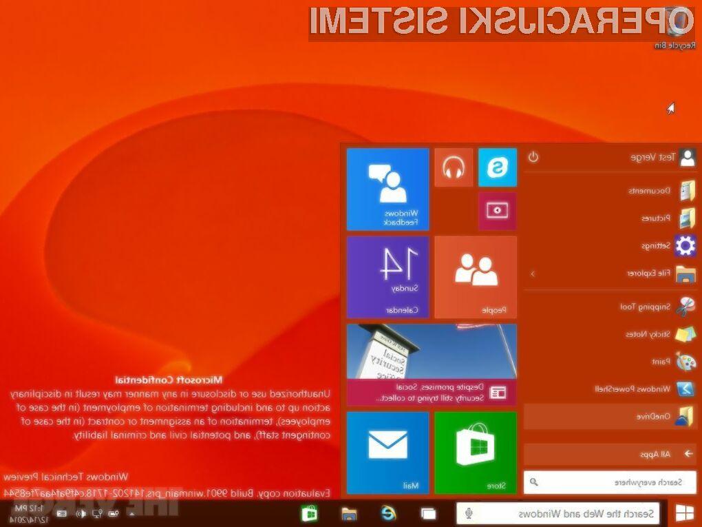 Uporabniki Windowsa XP bodo morali Windows 10 namestiti povsem na novo.