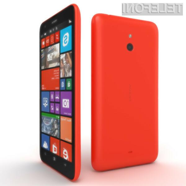 Pametni mobilni telefon Microsoft Lumia 1330 bo za malo denarja ponujal veliko!