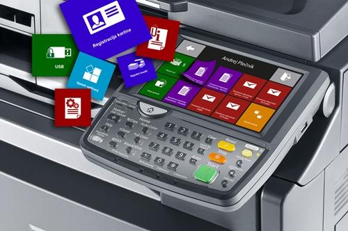 MyQ rešitev za upravljanje tiskanja