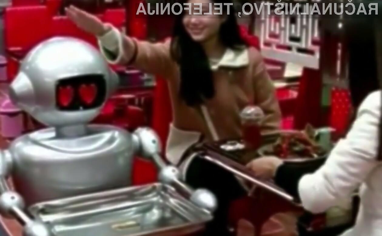 Gosti restavracije na Kitajskem so nad roboti več kot navdušeni!
