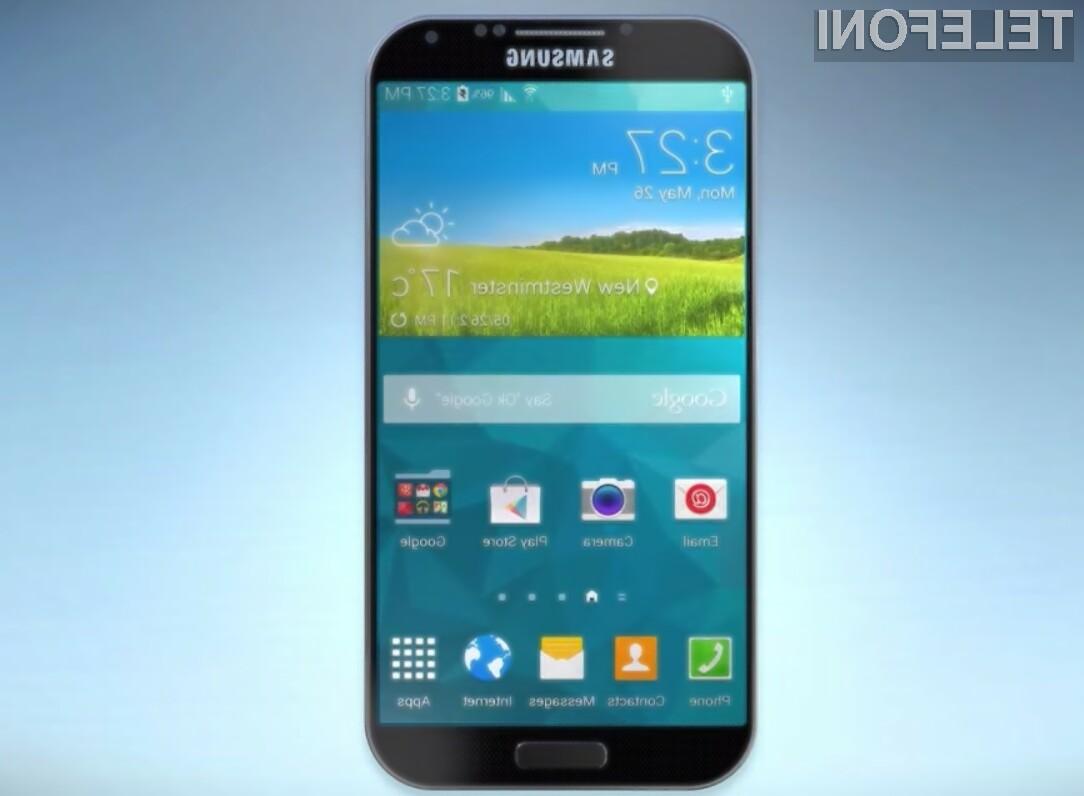 Pametni mobilni telefon Samsung Galaxy S6 naj bi bil javnosti razkrit že v prvi polovici januarja!