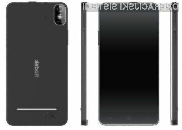 Pametni mobilni telefon Kodak IM5 z operacijskim sistemom Android se bo brez težav prikupil ljubiteljem selfijev.