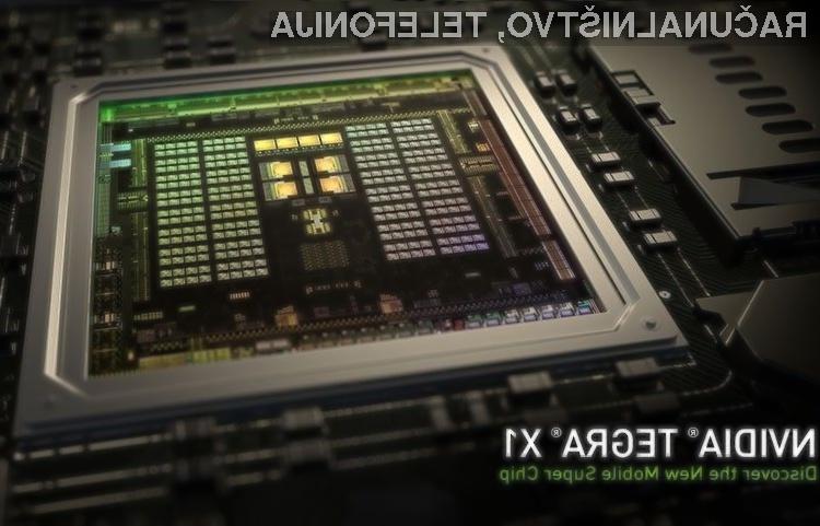 Mobilni superprocesor Nvidia Tegra X1 bo zmogljivost mobilnih naprav pognal v nebo!