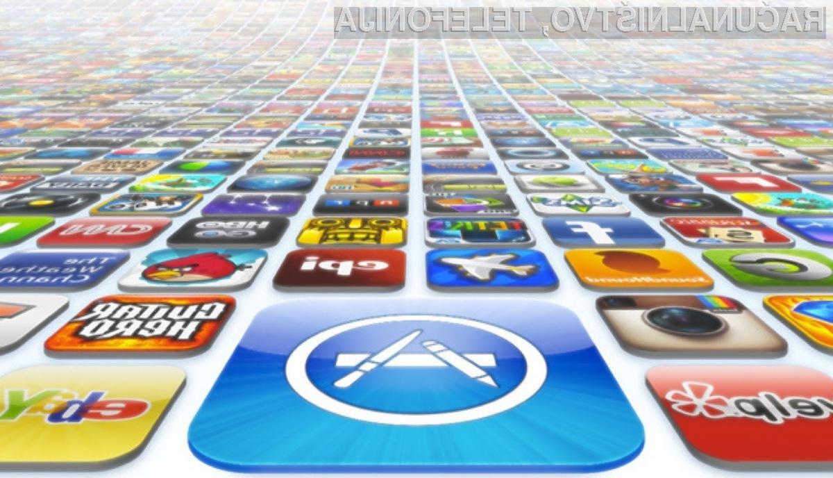 Znatna podražitev za Applove mobilne aplikacije