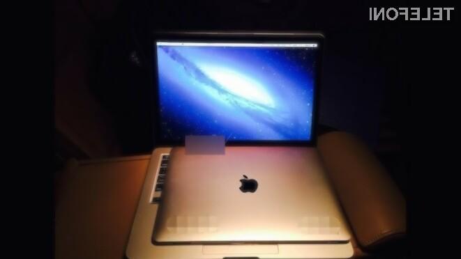 12-palčni MacBook Air naj bi bil naprodaj že v prvi polovici pomladi.