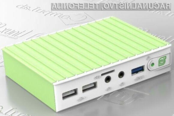 Namizni računalnik MintBox Mini bo zlahka navdušil tiste, ki pri delu prisegajo na zmogljive računalnike kompaktne oblike.