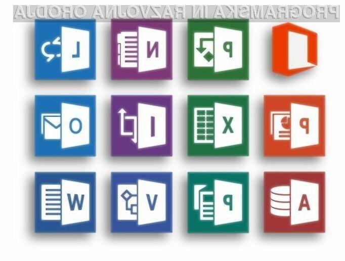 Pisarniški paket Office 2016 naj bi bil nared še pred začetkom letošnje jeseni.