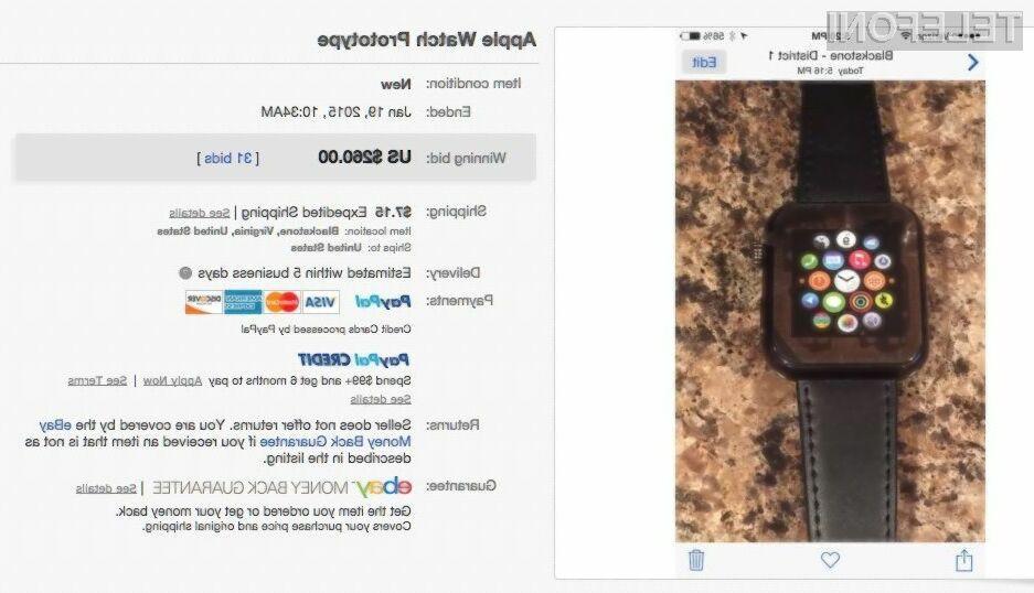 Prvi ponaredek pametne ročne ure Apple Watch je, saj gre po ocenah mnogih poznavalcev za relativno kakovosten izdelek.