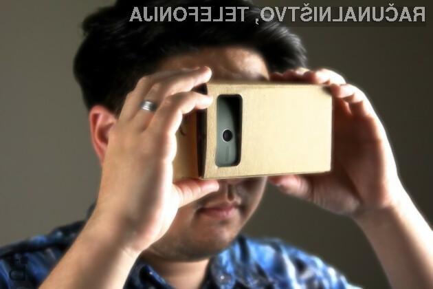 Za ogled 360 stopinjskih videoposnetkov na YouTubu bo potrebno uporabiti namenska večpredstavnostna očala.