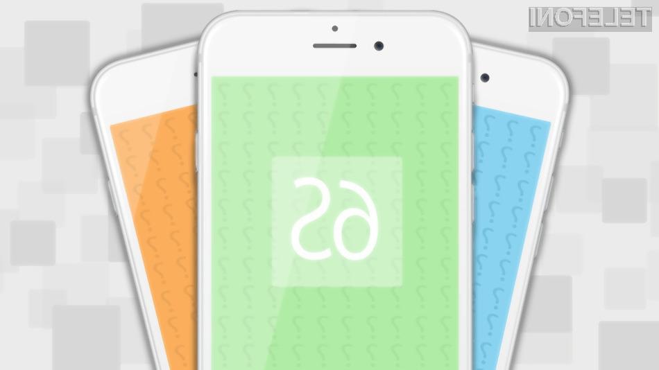Mobilnik iPhone 6S naj bi bil na račun podvojenega sistemskega pomnilnika opazno hitrejši v primerjavi s svojim predhodnikom.