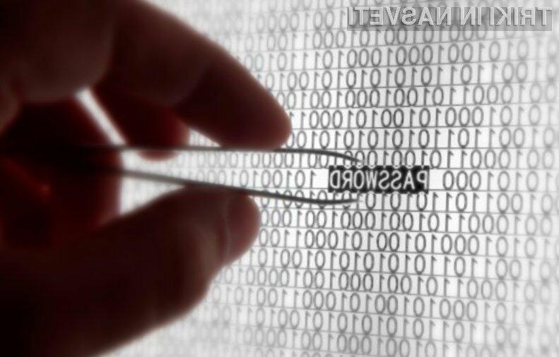 Ste danes že zamenjali dostopno geslo?